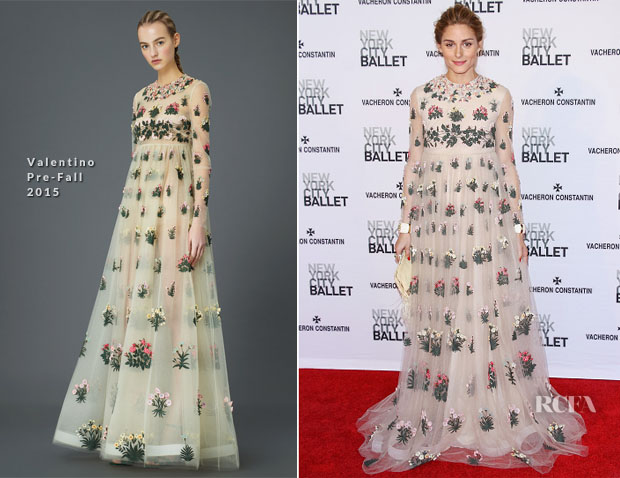 Olivia Palermo In Valentino - New York City Ballet 2015 Spring Gala