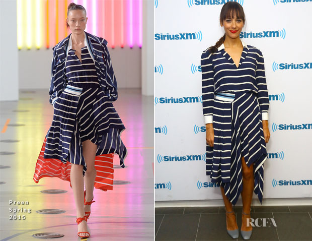 Rashida Jones In Preen - SiriusXM Studios