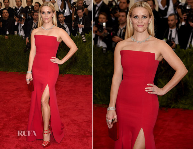 Reese Witherspoon In Jason Wu - 2015 Met Gala