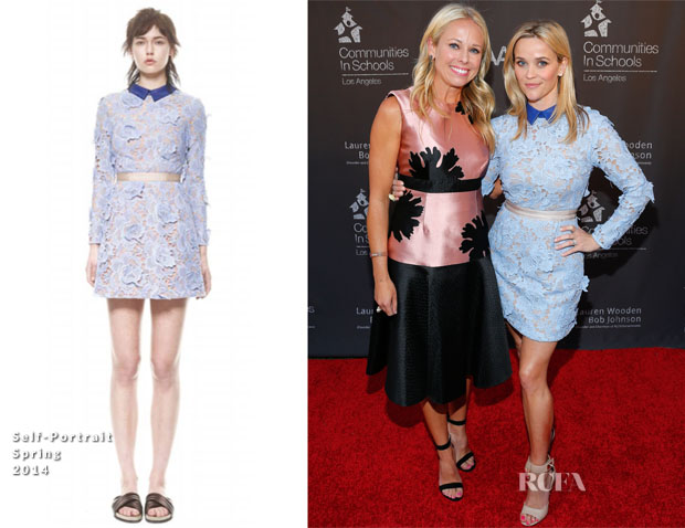 Reese Witherspoon In Self-Portrait - Communities In Schools Of Los Angeles Annual Gala