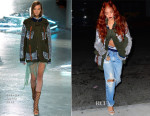 Rihanna In Rodarte - Out In New York City