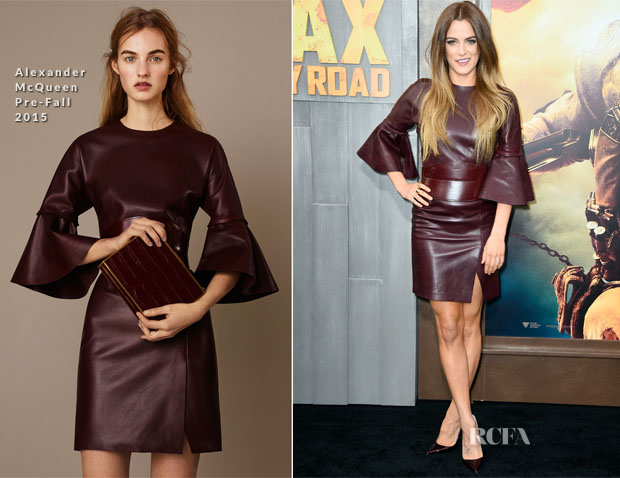 Riley Keough In Alexander McQueen - 'Mad Max Fury Road' LA Premiere
