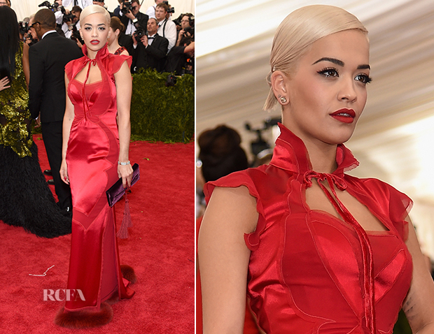 Rita Ora In Tom Ford - 2015 Met Gala