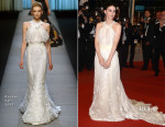 Rooney Mara In Olivier Theyskens for Rochas - 'Carol' Cannes Film Festival Premiere