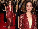Rose Byrne In Calvin Klein Collection - 2015 Met Gala