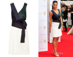 Sarah-Jane Crawford's 3.1 Phillip Lim 'Judo' Cutout Crepe Mini Dress
