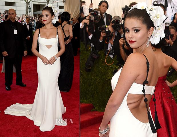 Selena Gomez In Vera Wang - 2015 Met Gala