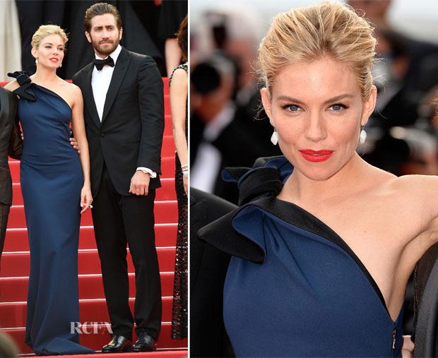Sienna Miller In Lanvin -  'La Tete Haute' Cannes Film Festival Premiere & Opening Ceremony