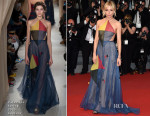 Sienna Miller In Valentino Couture - 'The Sea Of Trees' Cannes Film Festival Premiere