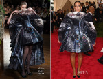 Solange Knowles In Giles - 2015 Met Gala