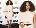 Solange Knowles In Stephane Rolland Couture - 'Bessie' LA Premiere