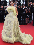Sonam Kapoor In Elie Saab Couture - 'Inside Out' Cannes Film Festival Premiere