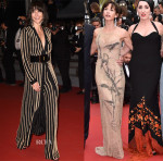 Sophie Marceau In  Balmain & Armani Privé - Cannes Film Festival Red Carpet Roundup