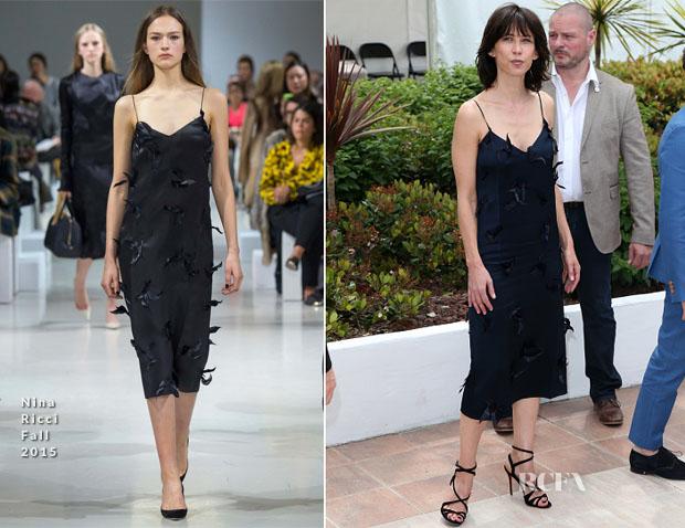 Sophie Marceau In Nina Ricci - 2015 Cannes Film Festival Jury Photocall