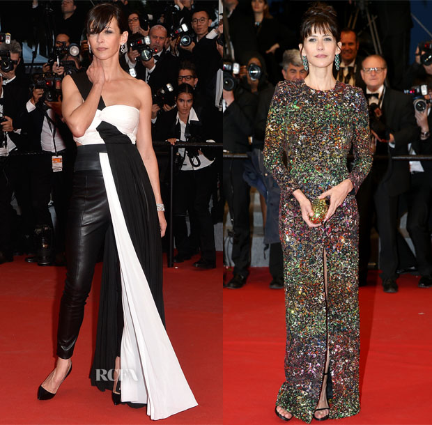 Sophie Marceau In Vionnet, Saint Laurent, Balmain & Armani Privé - Cannes Film Festival Red Carpet Roundup