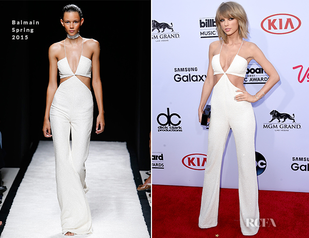 Taylor Swift In Balmain - 2015 Billboard Music Awards