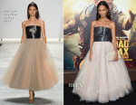 Thandie Newton In Monique Lhuillier -  'Mad Max: Fury Road' LA Premiere