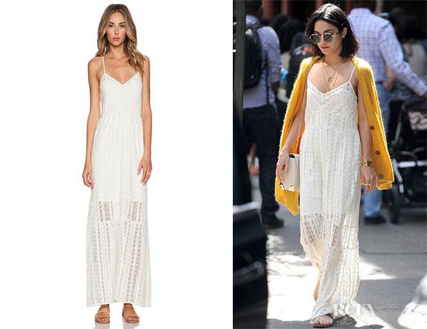 Vanessa Hudgens' Tularosa 'Charity' Slip Dress