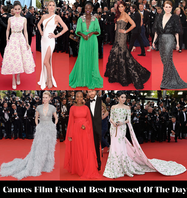Who Was Your Best Dressed On Day 1 of Cannes Film Festival 2015