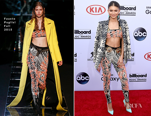 Zendaya Coleman In Fausto Puglisi - 2015 Billboard Music Awards