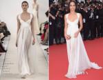 Zoe Kravitz In Valentino Sala Bianca Haute Couture -  'Mad Max: Fury Road' Cannes Film Festival Premiere