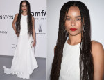 Zoe Kravitz In Vionnet - 2015 amfAR Cinema Against AIDS Gala