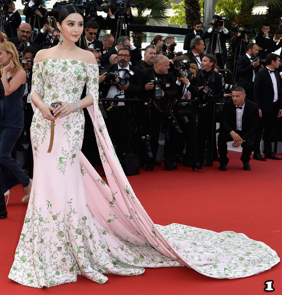 "CANNES, FRANCE - MAY 13:  Fan Bingbing attends the opening ceremony and premiere of ""La Tete Haute"" (""Standing Tall"") during the 68th annual Cannes Film Festival on May 13, 2015 in Cannes, France.  (Photo by Pascal Le Segretain/Getty Images)"