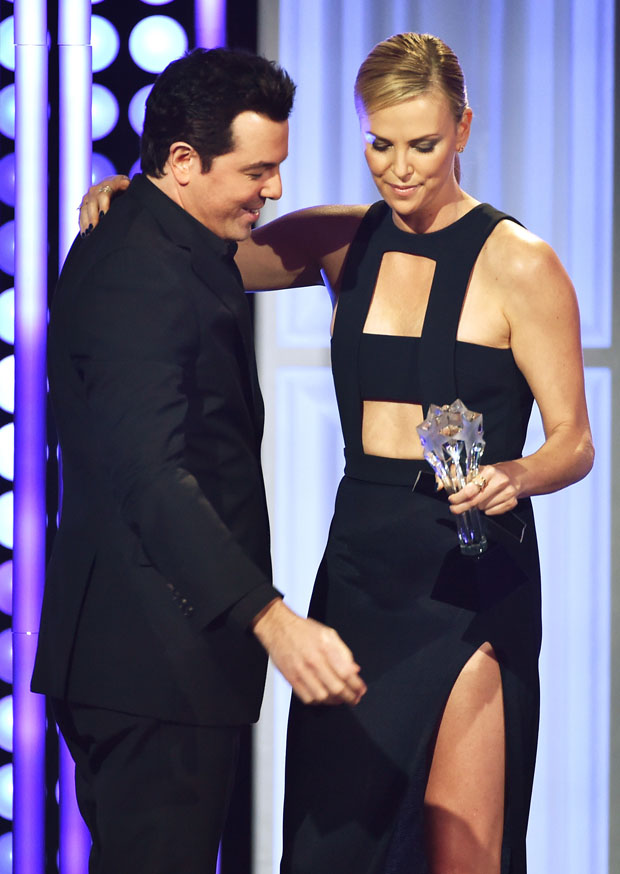 Seth MacFarlane and Charlize Theron - 5th Annual Critics ...