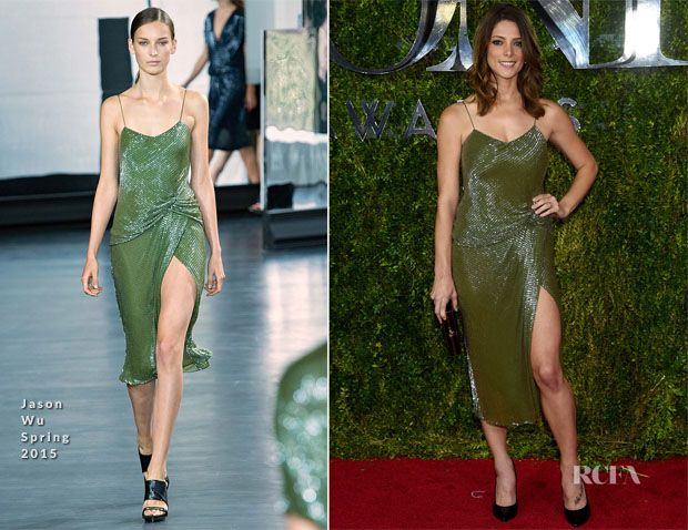 Ashley Greene In Jason Wu - 2015 Tony Awards