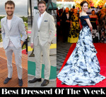 Best Dressed Of The Week - Emmy Rossum In Carolina Herrera, Douglas Booth In Polo Ralph Lauren & Richard Madden In Thom Sweeney