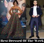 Best Dressed Of The Week - Megan Montaner in Andrew Gn & Zayn Malik in Valentino