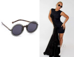 Beyonce Knowles' Preen By Thornton Bregazzi 'Chantilly' Sunglasses