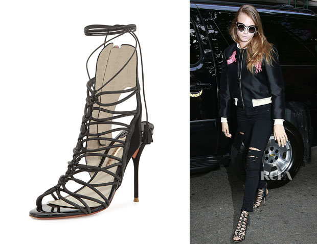 Cara Delevingne's Sophia Webster 'Lacey' Gladiator Sandals