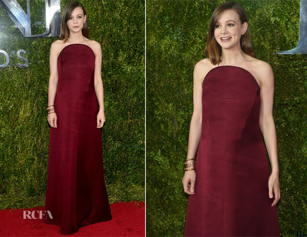Carey Mulligan In Balenciaga - 2015 Tony Awards