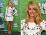 Carrie Underwood In Thomas Wylde - 2015 CMT Awards