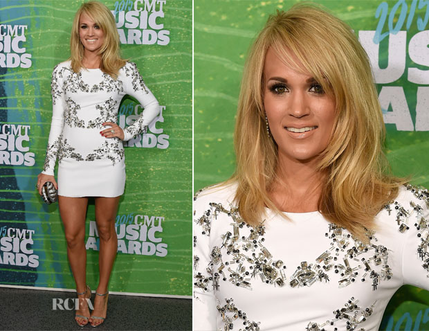 Carrie Underwood In Thomas Wylde AW15 - 2015 CMT Awards