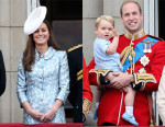 Catherine, Duchess of Cambridge In Catherine Walker - Trooping The Colour