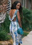 Tularosa Willa Dress,  Call It Spring Jewels,  Chloé Marcie Small Cross-Body Bag and  H&M Shoes