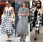 Celebrities Love Gingham
