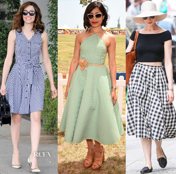 Celebrities Love Gingham 2