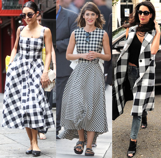 Celebrities Love...Gingham
