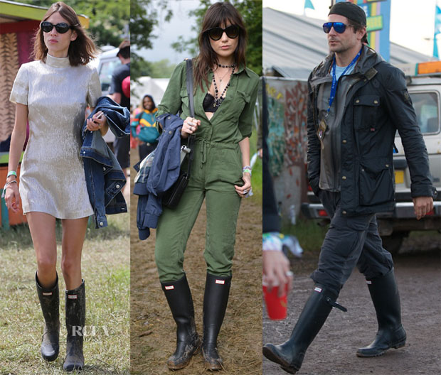 Celebrities Love Hunter Boots