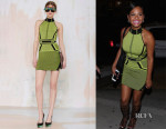 Christina Milian's Nasty Gal Digital Rage Knit Dress
