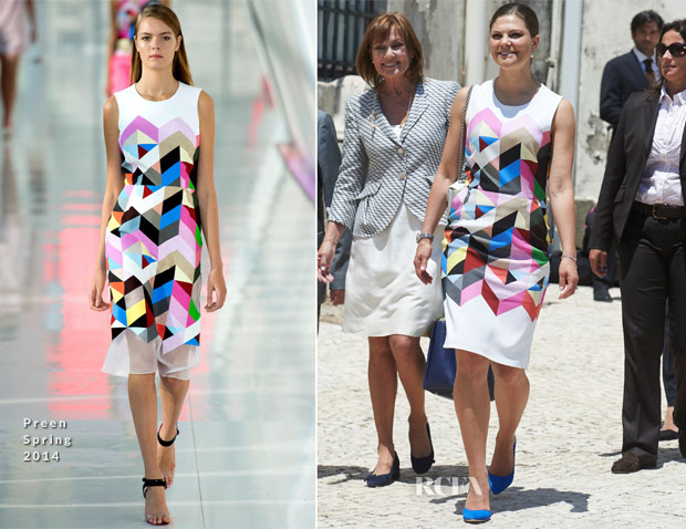 Crown Princess Victoria of Sweden In Preen - Academia Das Ciencias