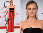 Diane Kruger In Prabal Gurung - 2015 CFDA Fashion Awards