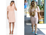 Drew Barrymore's Madewell Eyelet-Mix Tunic Dress