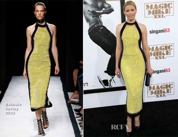 Elizabeth Banks In Balmain - 'Magic Mike XXL' LA Premiere