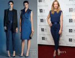 Emily Blunt In Elisabetta Franchi - 9th Annual American Institute For Stuttering Benefit Gala