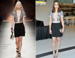 Emmy Rossum In Blumarine - Vogue 120 Fetes LA