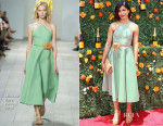 Freida Pinto In Michael Kors - 8th Annual Veuve Clicquot Polo Classic